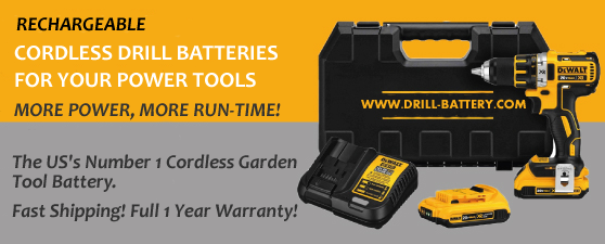 cheap replacement drill batteries